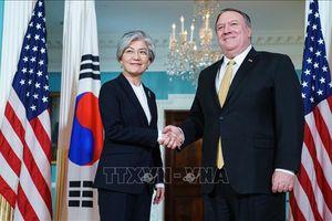 Ngoại trưởng Hàn - Mỹ điện đàm về hợp tác quân sự và dịch COVID-19