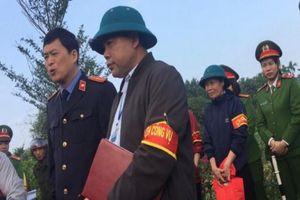 Đông Yên (Quốc Oai, Hà Nội): Thanh tra Bộ Công an đã vào cuộc vụ việc người dân 'tố' cán bộ xã để mất tài sản của dân