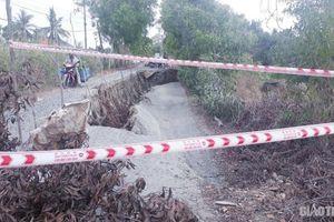 100 tỷ đồng khắc phục sụt lún đường tỉnh 965 qua U Minh Thượng