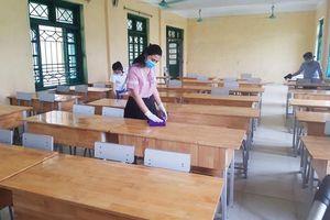 Hai trường học tại huyện Mê Linh chuẩn bị đón học sinh trở lại