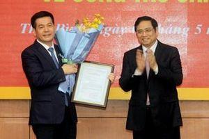 Bí thư Tỉnh ủy Thái Bình Nguyễn Hồng Diên giữ chức Phó trưởng Ban Tuyên giáo Trung ương