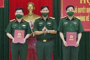 Bộ Tư lệnh Quân khu 4 bổ nhiệm Phó Tham mưu trưởng Bộ Chỉ huy Quân sự tỉnh Hà Tĩnh