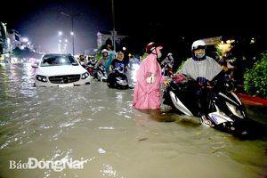 Tiếp tục đối mặt nguy cơ ngập lụt khi mùa mưa tới