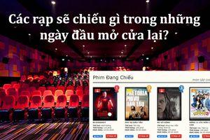 Trong lúc chờ đợi phim mới ra lò, các rạp phim sẽ chiếu gì trong những ngày đầu mở cửa lại?