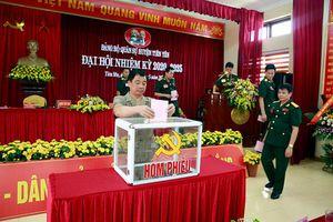 Đại hội Đảng bộ Quân sự huyện Tiên Yên nhiệm kỳ 2020- 2025