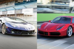 Những cặp kỳ phùng địch thủ trong thế giới xe
