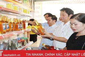 Cửa hàng kết nối, tiêu thụ sản phẩm OCOP đầu tiên ở Vũ Quang đi vào hoạt động