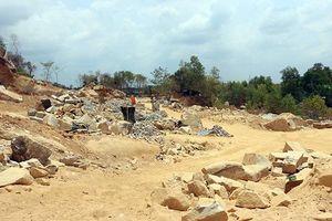 Chấn chỉnh nạn khai thác khoáng sản trái phép tại Bà Rịa - Vũng Tàu
