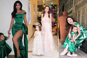 Thời trang đôi của mẹ con sao Việt: Hoa hậu Thu Thảo, Elly Trần khiến ai cũng xuýt xoa