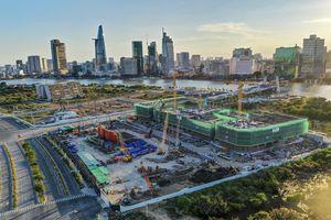 Toàn cảnh tiến độ 3 dự án căn hộ hạng sang ngay trung tâm Thủ Thiêm
