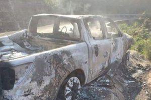 Thông tin bất ngờ về vụ thi thể chết cháy trong xe ô tô bán tải của Bí thư xã ở Đắk Nông?