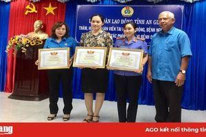 Liên đoàn Lao động tỉnh An Giang chăm lo đoàn viên trong Tháng Công nhân