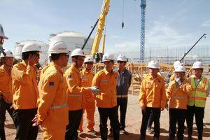 Dự án kho cảng LNG Thị Vải đạt hơn 200.000 giờ làm việc an toàn