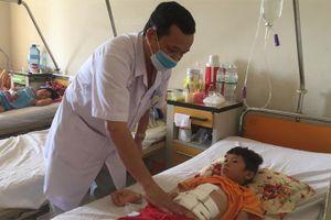 Bệnh viện Đa khoa tỉnh Khánh Hòa cứu sống bệnh nhân nhi bị đứt đôi dạ dày và tụy
