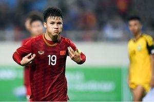 Quang Hải nằm trong danh sách cầu thủ tấn công ấn tượng nhất Châu Á