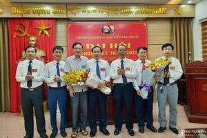 Chi bộ Cơ quan Ủy ban Kiểm tra Tỉnh ủy đại hội nhiệm kỳ 2020-2025