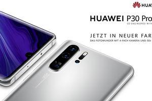 Huawei ra mắt P30 Pro New Edition: có màu bạc, ứng dụng Google, giá 800 USD