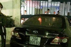 Tạm dừng nhiệm vụ trưởng Ban Nội chính Thái Bình gây tai nạn