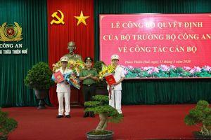 Hai tân Phó Giám đốc Công an tỉnh Thừa Thiên - Huế là ai?