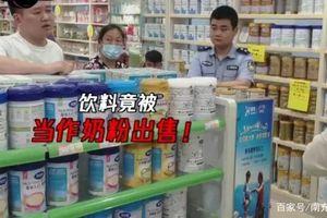 Bê bối nghi vấn sữa giả lại xuất hiện tại Trung Quốc