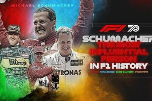 Tay đua huyền thoại Michael Schumacher được vinh danh trong lịch sử F1