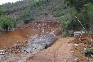 Sơn La: Nổ mìn thi công dự án, người dân sống trong sợ hãi