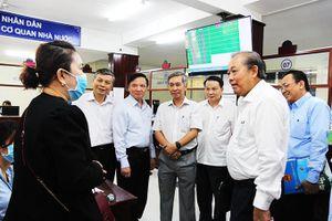 Phó Thủ tướng Thường trực Trương Hòa Bình: Khánh Hòa cần tiếp tục phát huy kết quả cải cách hành chính