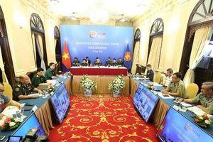Hội nghị trực tuyến quan chức Quốc phòng cấp cao ASEAN