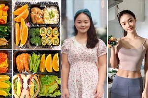Gái xinh xứ Trung giảm 20kg trong chưa đầy 3 tháng chia sẻ thực đơn ăn trưa 7 ngày cho các nàng lười ăn kiêng