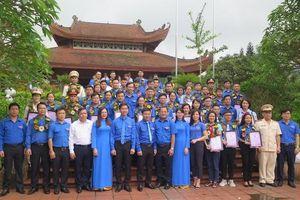 Tuổi trẻ Thái Nguyên báo công dâng Bác