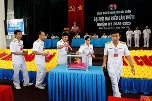 Đảng bộ Lữ đoàn 189 tổ chức Đại hội đại biểu lần thứ II