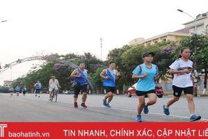 Người Hà Tĩnh chạy bộ lan tỏa lối sống lành mạnh