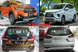 Chênh nhau 31 triệu đồng, chọn Mitsubishi Xpander AT hay Suzuki XL7?
