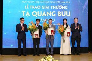 Giải thưởng Tạ Quang Bửu: Nguồn động viên lớn cho các nhà khoa học