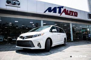Toyota Sienna 2020 hơn 4 tỷ, đắt gấp 3 lần Kia Sedona ở Việt Nam