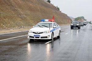 Yên Bái: Thông xe kỹ thuật đường nối Quốc lộ 32C với cao tốc Nội Bài - Lào Cai