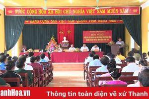 Tổ đại biểu HĐND tỉnh tiếp xúc cử tri xã Cẩm Long (Cẩm Thủy)