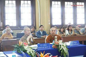 TP.HCM : Tăng Ni học viên cao học tiếp tục bảo vệ luận văn