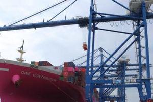 Cảng Quốc tế Lạch Huyện tiếp tục đón tuyến dịch vụ mới đi trực tiếp bờ Tây Hoa Kỳ