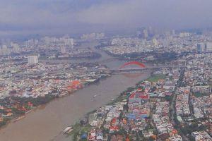 Nhiều đoạn hạ lưu sông Sài Gòn ô nhiễm vượt mức cho phép