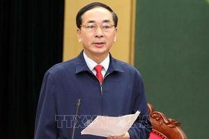 Bí thư Thái Nguyên Trần Quốc Tỏ làm Thứ trưởng Bộ Công an