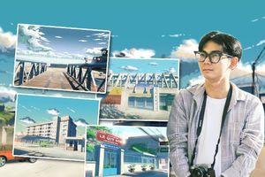 Đồng Tháp sống động 'như phim' qua tranh vẽ của chàng sinh viên Đỗ Minh Hải