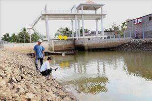 Xâm nhập mặn ở Đồng bằng sông Cửu Long giảm dần, một số nơi vẫn ở mức cao