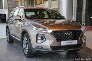 2020 Hyundai Santa Fe chất lừ, giá khởi điểm từ 909 triệu đồng