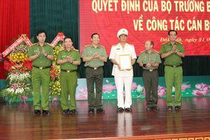 Công an tỉnh Đắk Lắk: Công bố quyết định của Bộ trưởng Bộ Công an về công tác cán bộ