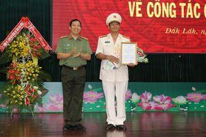 Bộ công an điều động, bổ nhiệm phó giám đốc Công an Đắk Lắk