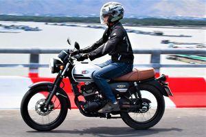 Khám phá Kawasaki W175 - động cơ êm ái, giảm xóc cứng