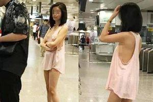 Trang phục phản cảm nơi công cộng khiến người xung quanh ngao ngán