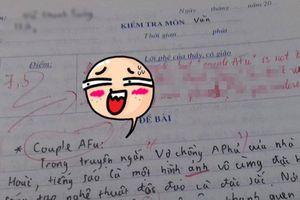 Kiểm tra Văn lại thích chêm tiếng Anh, nam sinh 'toát mồ hôi hột' trước màn 'phản pháo' của cô giáo