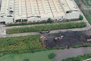 Nhà máy xử lý rác tai tiếng ở Hải Dương đổ tro xỉ ra môi trường